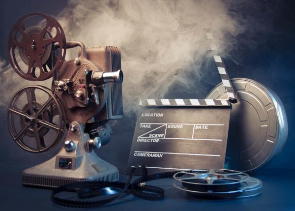 Strumenti di un set cinematografico